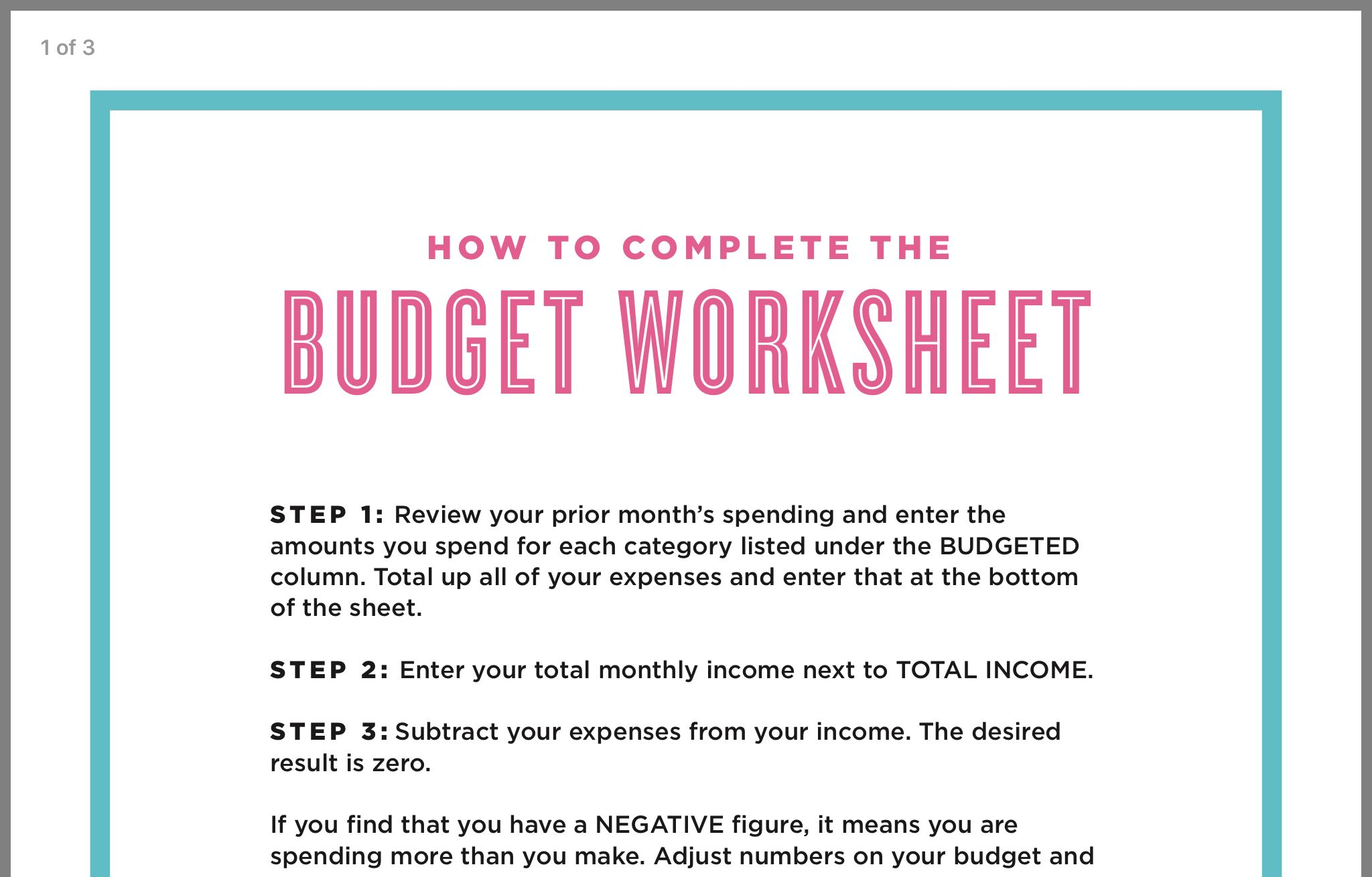 Pin By Edna M On Finance Budget