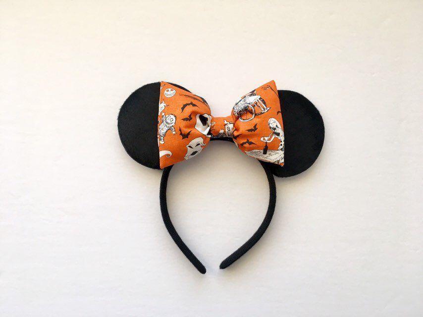 Handmade Disney Hocus Pocus Baby Kids Headband Witch Witches Gothic Halloween