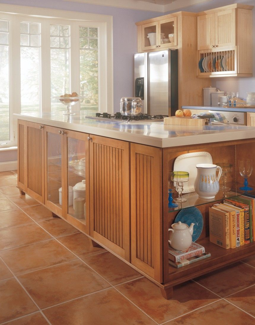 Ashton Maple Natural Coffee Kitchen By Thomasville Cabinetry