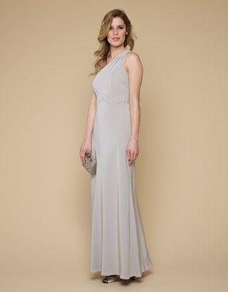 Oonagh Maxi Dress, Monsoon.  Silver bridesmaid