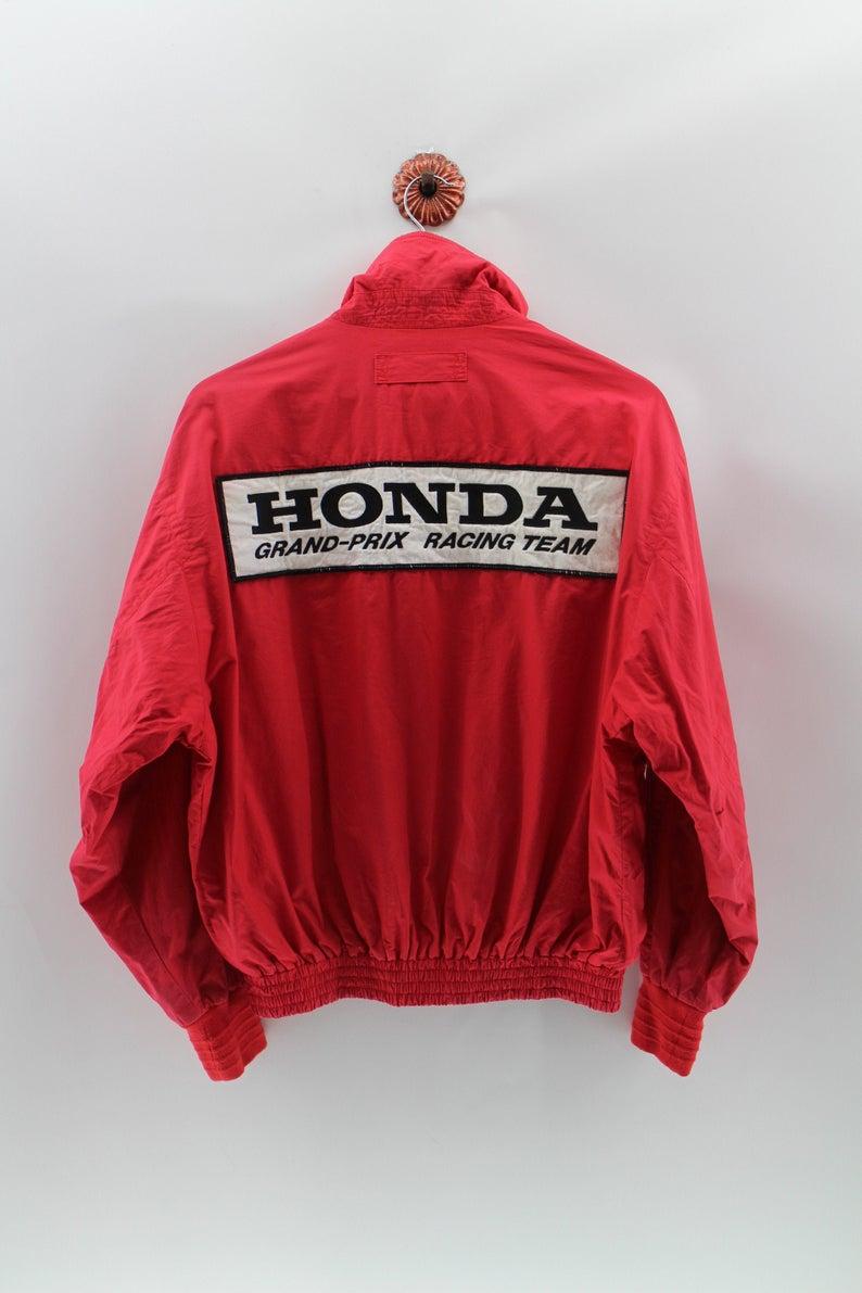 Honda F1 Team Jacket Unisex Large Vintage 90s Honda Racing Etsy Team Jackets Outerwear Jackets Jackets [ 1191 x 794 Pixel ]