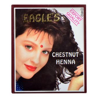 Eagle\'s Henna Chestnut 60g | Henna hair color, Black henna ...