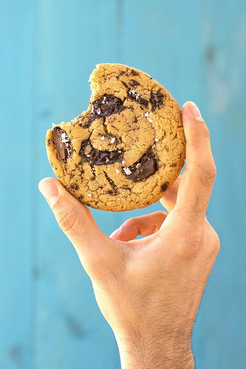 Tahini And Olive Oil Chocolate Chunk Cookies Vegan Recipe Food Photography Dessert Vegan Cookies Baking Photography