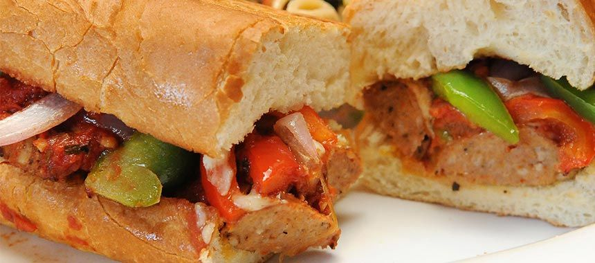 Dutch Oven Sausage And Peppers Sandwiches Recipe With Images Sausage And Peppers Oven Sausage And Peppers Stuffed Peppers