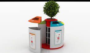 Resultado de imagen para imagenes de tachos de reciclaje trash pinterest public bathrooms - Cubos de basura originales ...