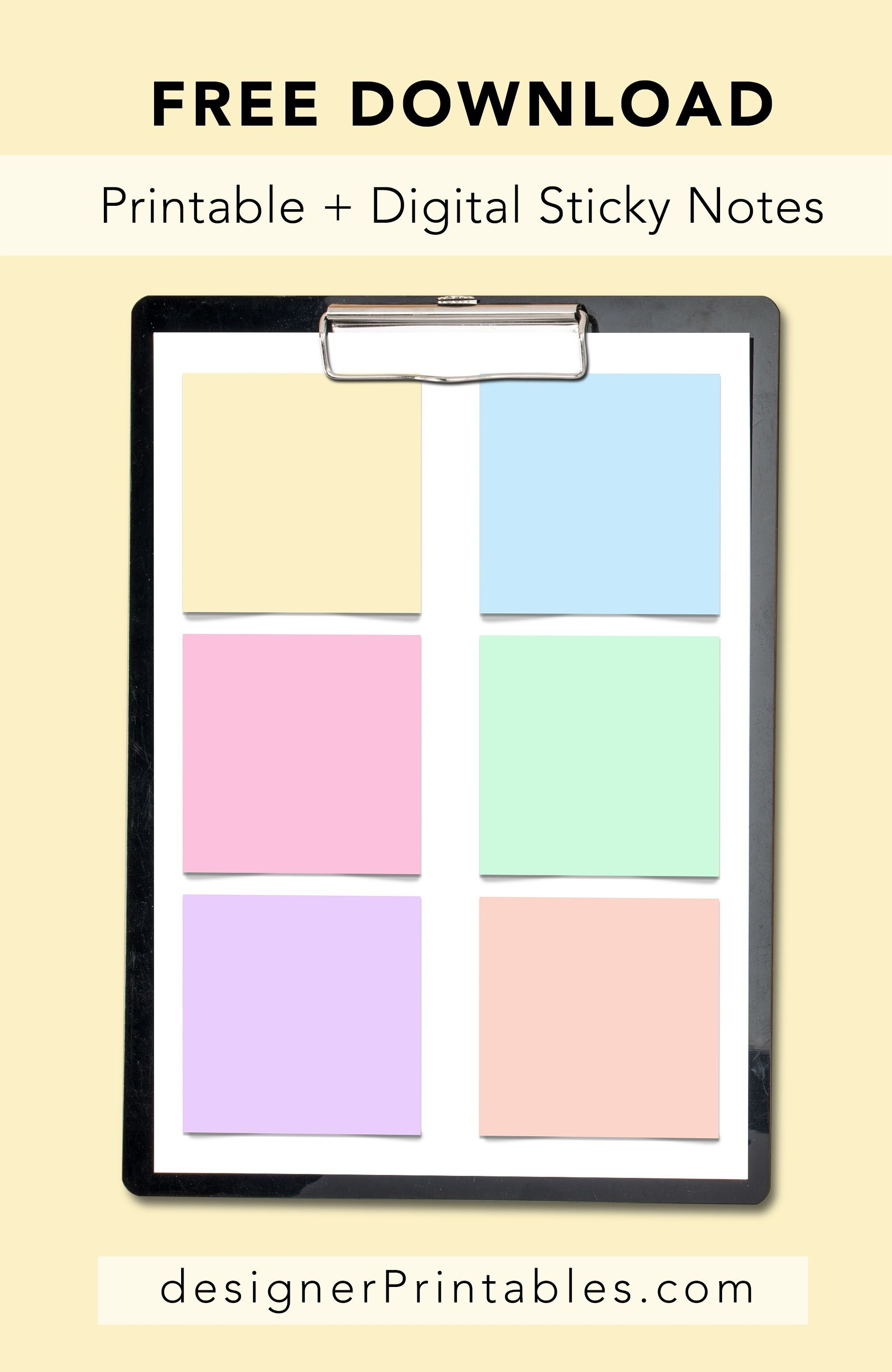 Buy Sticky stylish notes download picture trends