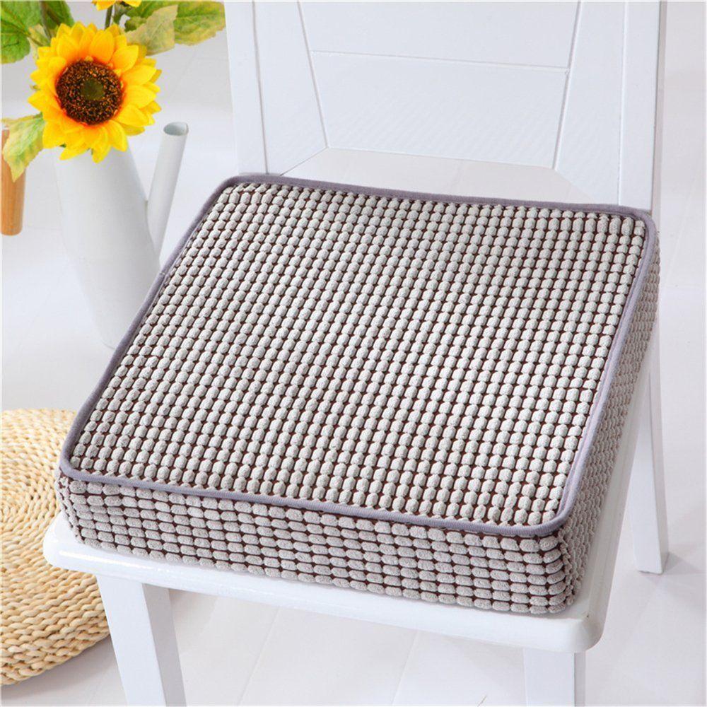 Amazon Com Vancore Tm Memory Foam Seat Cushion Car Square Chair Cushions Pads Home Ki Custom Dining Chairs Memory Foam Seat Cushion Outdoor Chair Cushions