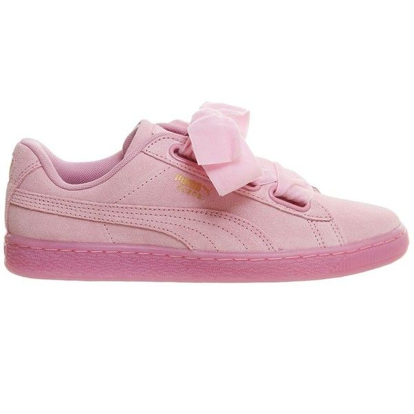 Suede leather shoes, Pink sneakers
