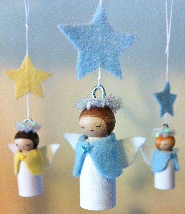 Angeli Lavoretti Di Natale.25 Lavoretti Di Angioletti Natalizi Con Diversi Materiali Natale Artigianato Angeli Di Natale Progetti Di Natale