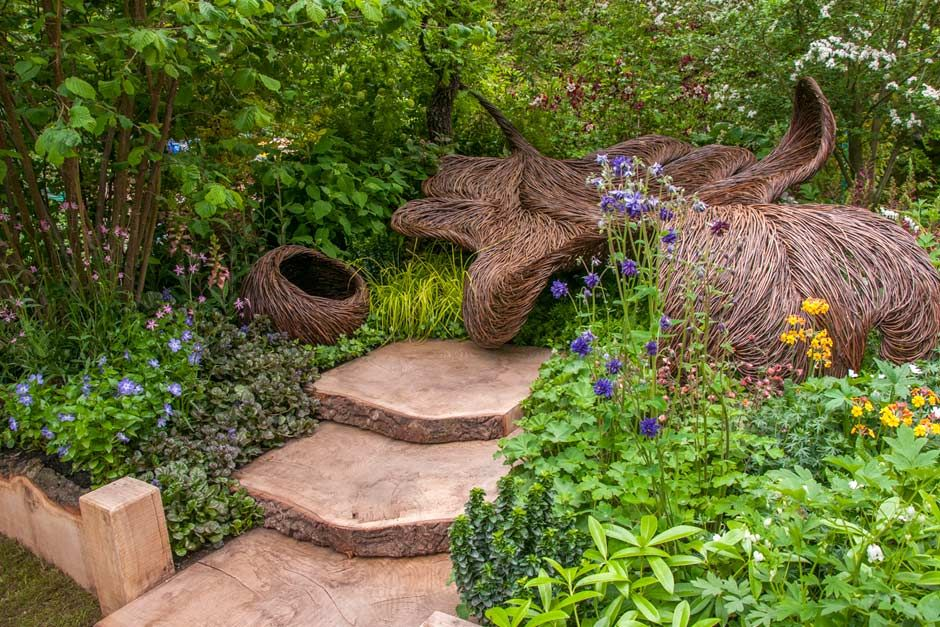 Find Out More About The Haven Garden Artisan Garden At The RHS Chelsea  Flower Show Designed By Tom Hare Supported By Sarah Eberle For Nelsons