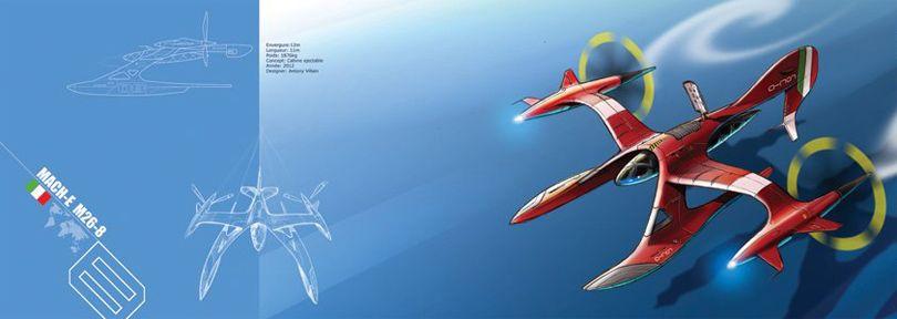 Concept ships from SpeedBirds