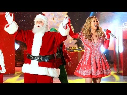 mariah carey all i want for christmas is you live at rockefeller c