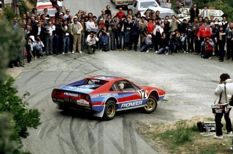 Image result for ferrari 308gtb rally