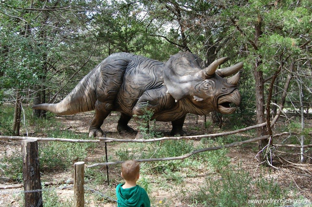 The Dinosaur Park is fun for kids of all ages to see life-sized dinosaurs