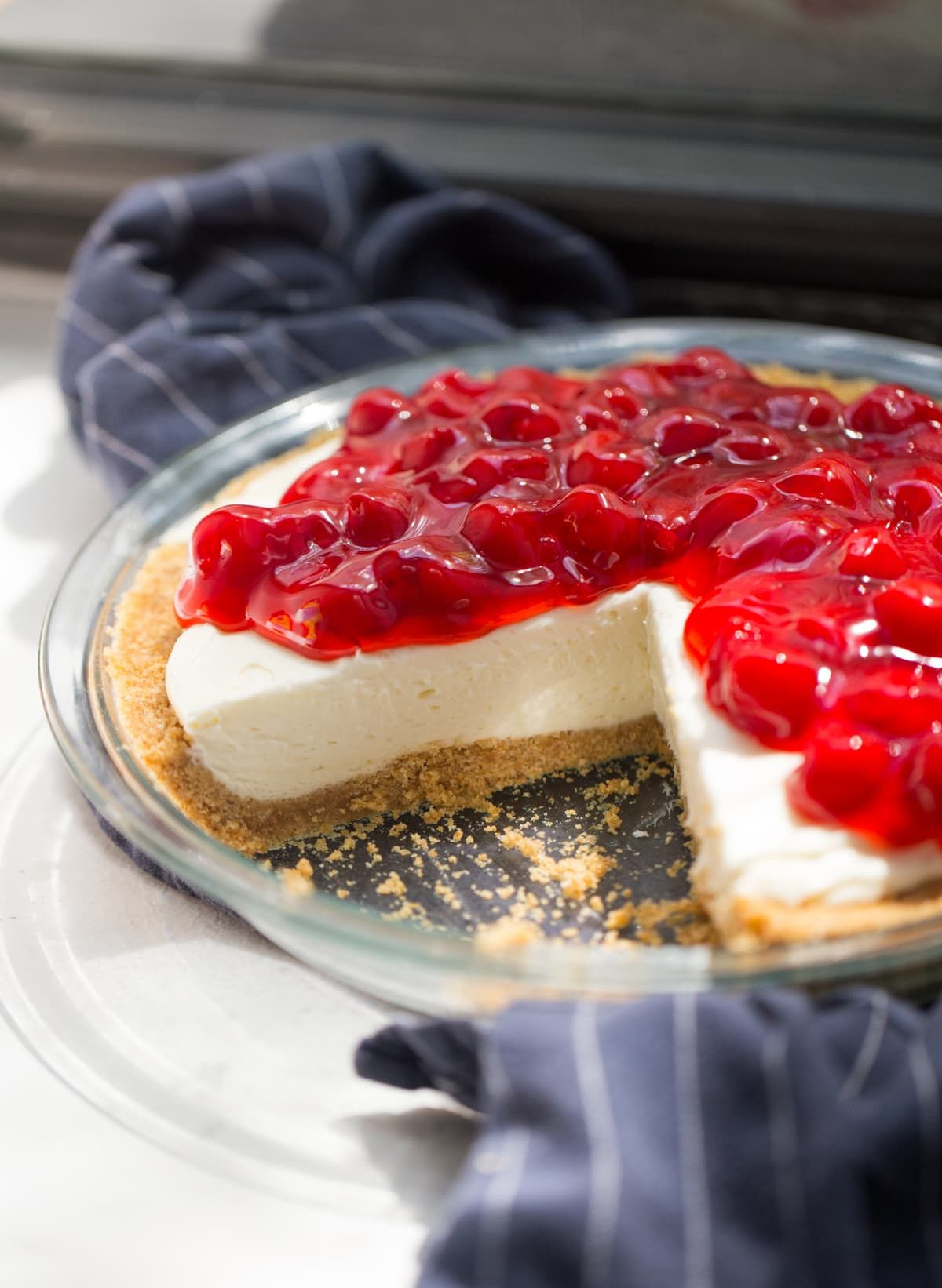 Amazing No Bake Cheesecake Recipe | Lauren's Latest