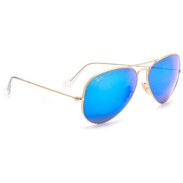 92b76e547d Ray-Ban Oversized Mirrored Aviator Sunglasses (11