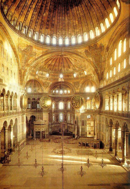Estambul. Santa Sofía | アヤソフィア と 建築