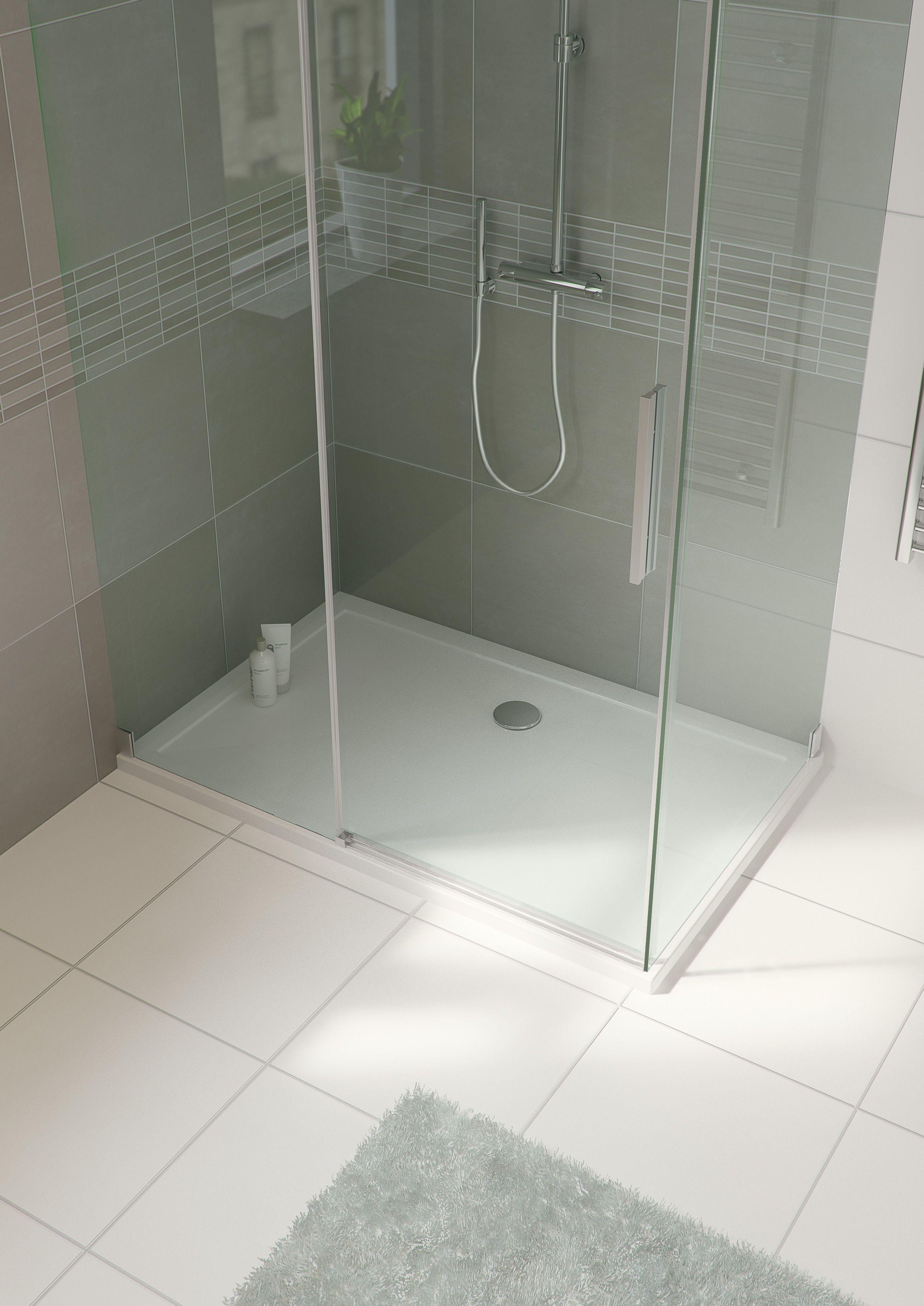 Bruynzeel Zeno Schuifdeur Enkel Douche Douchecabine Badkamer Sanitair Bathroom Shower