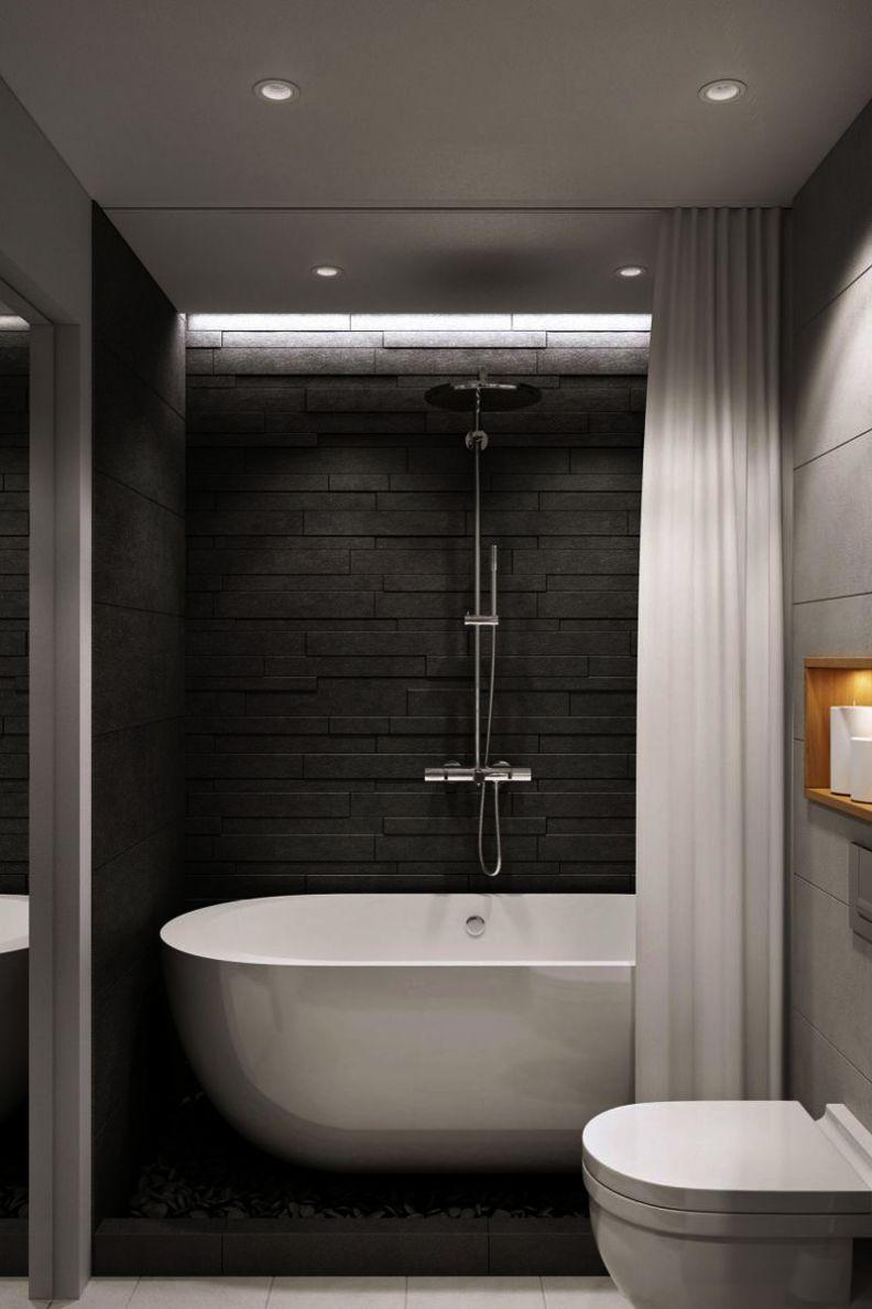 mDesign Bath Accessory Set, Soap Dispenser Pump ...