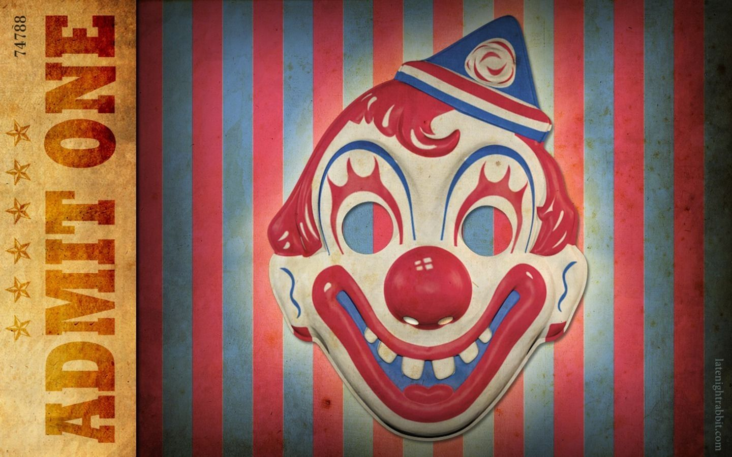 Wallpaper of Circus Clown for fans of Circus and Carnivals