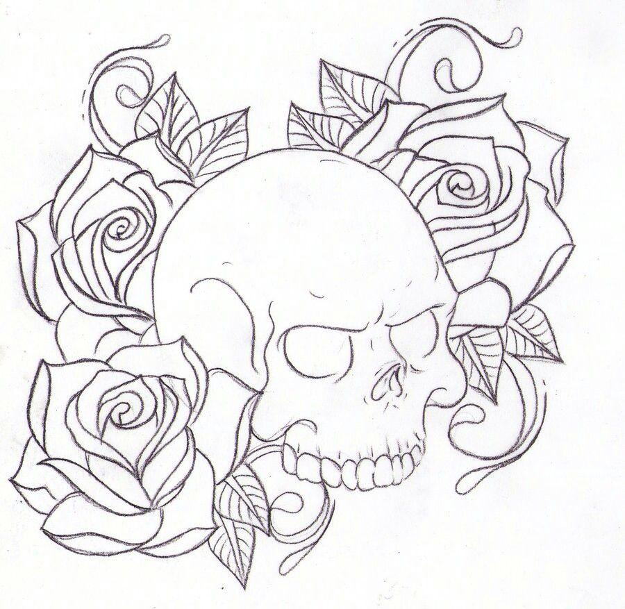 skulls tatd pinterest tattoo