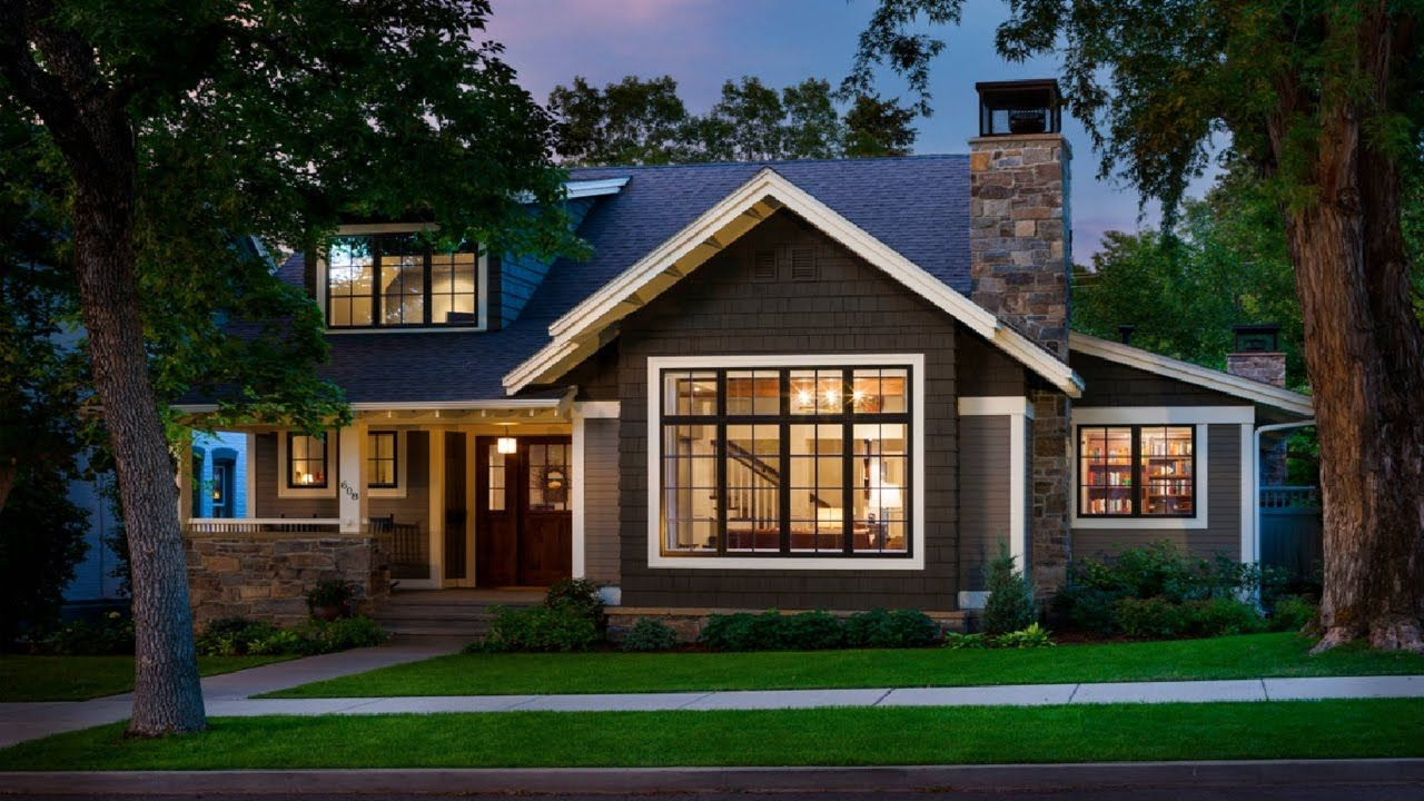 Use Open Houses For Your Perfect House Design Ideas 30 The Best Small House Design Ideas Youtu Craftsman Home Exterior House Designs Exterior Craftsman House