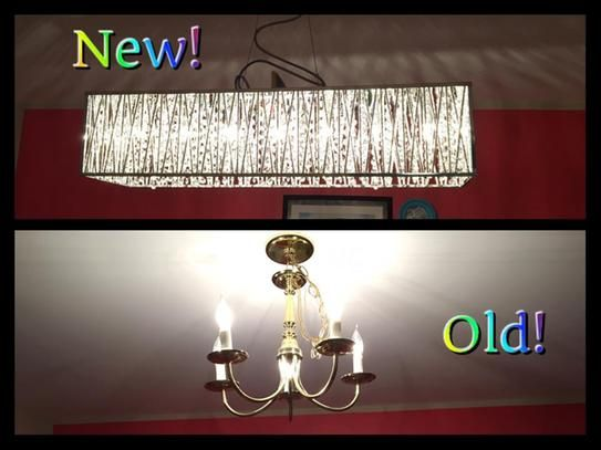 Home decorators collection 7 light chrome with woven laser cut crystal shade rectangular pendant 17311 at the home depot mobile