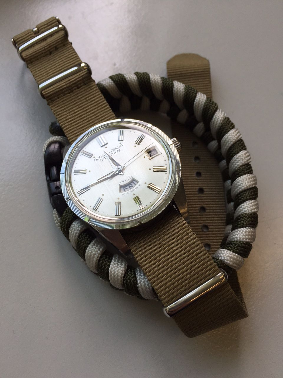 Loving this #vintage Orient Olympia! orientwatchusa.com #watches #orientwatch