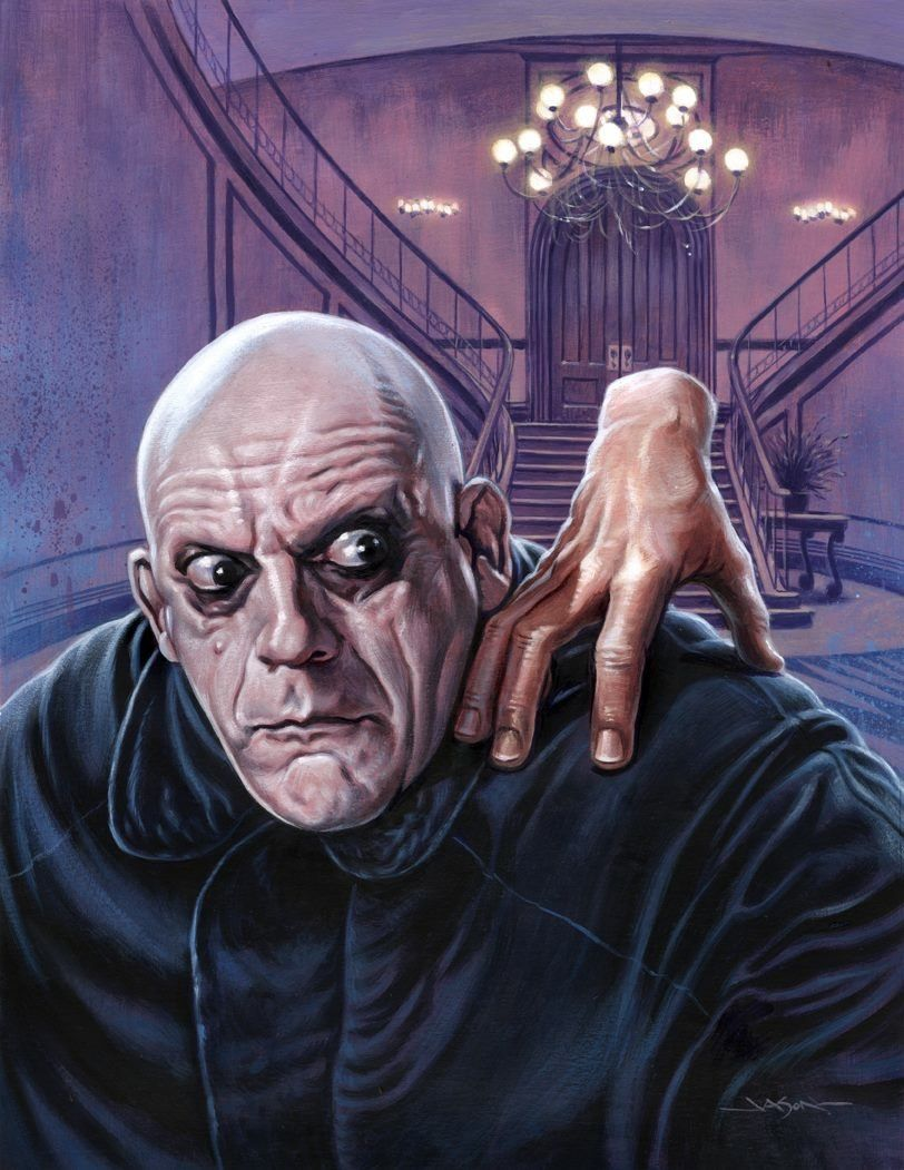 Uncle fester the addams family pinterest - Uncle Fester From The Addams Family By Jason Edmiston