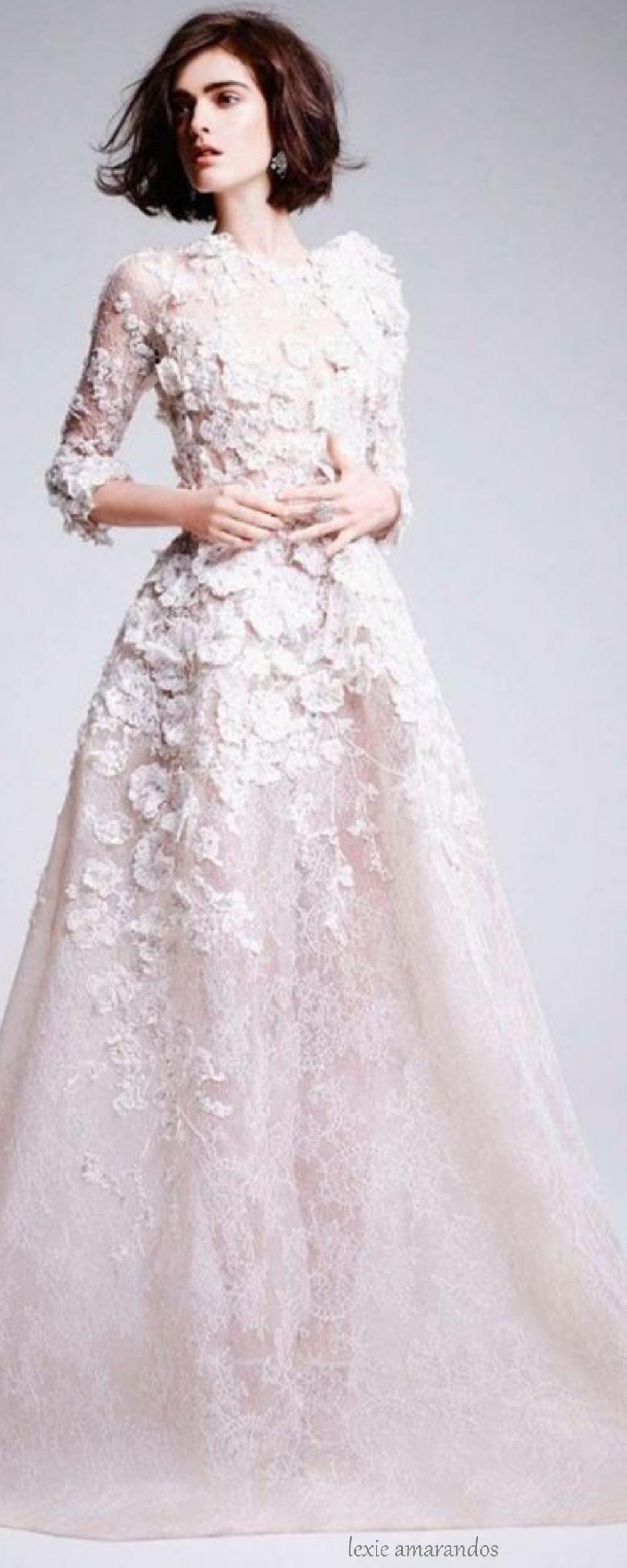 Elie saab gown via lexiea gowns eliesaab wedding dresses
