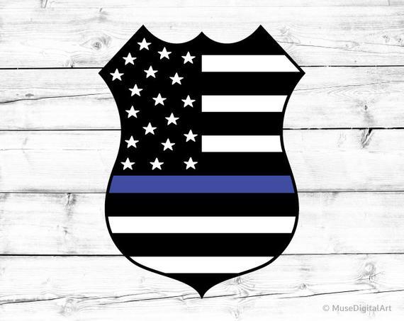 American Flag Svg Svg Police Badge Svg Police Officer Svg Etsy Police Badge Police Decal American Flag
