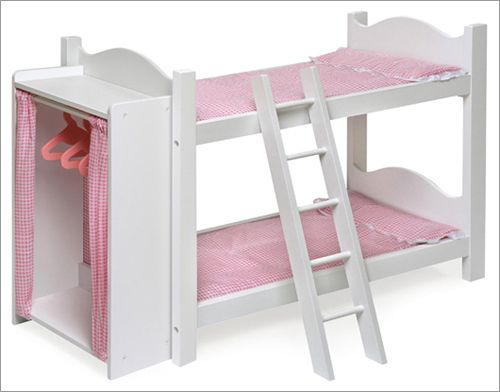 Doll Bunk Beds For Baby Dolls American Girl Dolls My