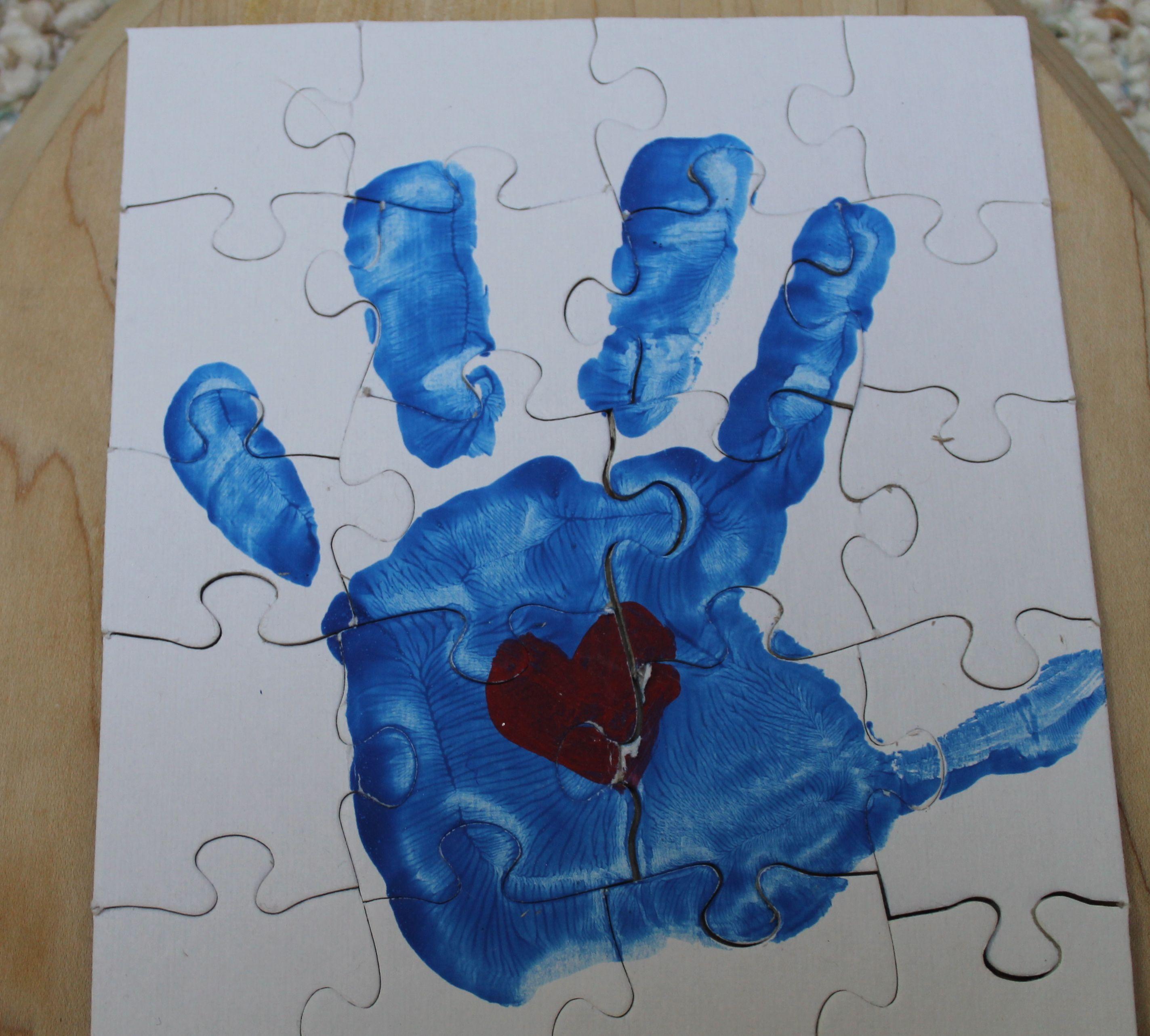 Handprint Puzzle