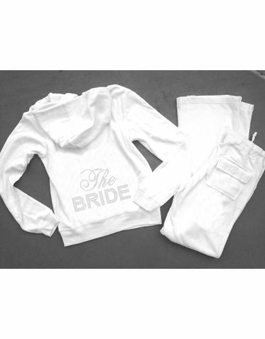 Velour Bride Tracksuit And Bridesmaid Sweatsuits Other Great Colors Too