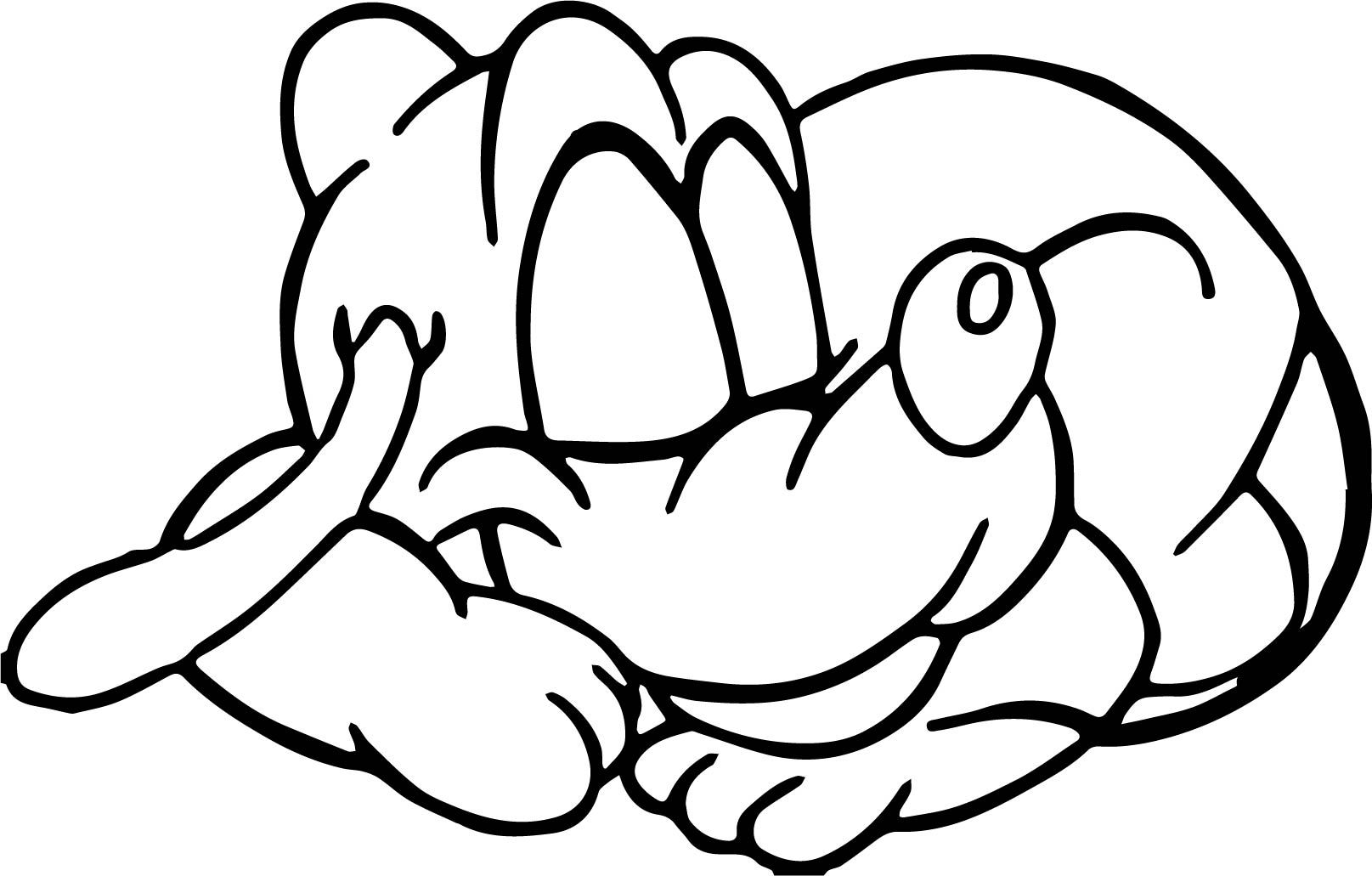 nice sleeping baby pluto coloring pages wecoloringpage pinterest