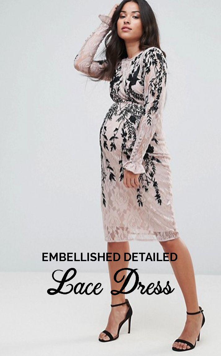 Hope ivy maternity long sleeve lace dress with embellished hope ivy maternity long sleeve lace dress with embellished detail beautiful maternity dress holiday outfit for pregnancy pregnancy photography ombrellifo Gallery