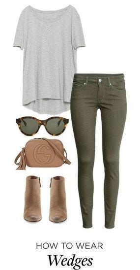 Me gusta este atuendo. Prefiero los jeans para ser jeans rectos o flacos y n …… – Summer outfits