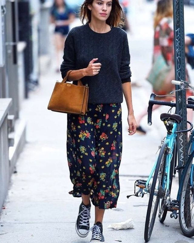 Find Out What Alexa Chung Wears. #alexachung #shopstyle #shoppinglist #shopping #shop #celebstyle #styleinspiration #trends #classicstyle #minimalstyle #frenchstyle #shopmycloset