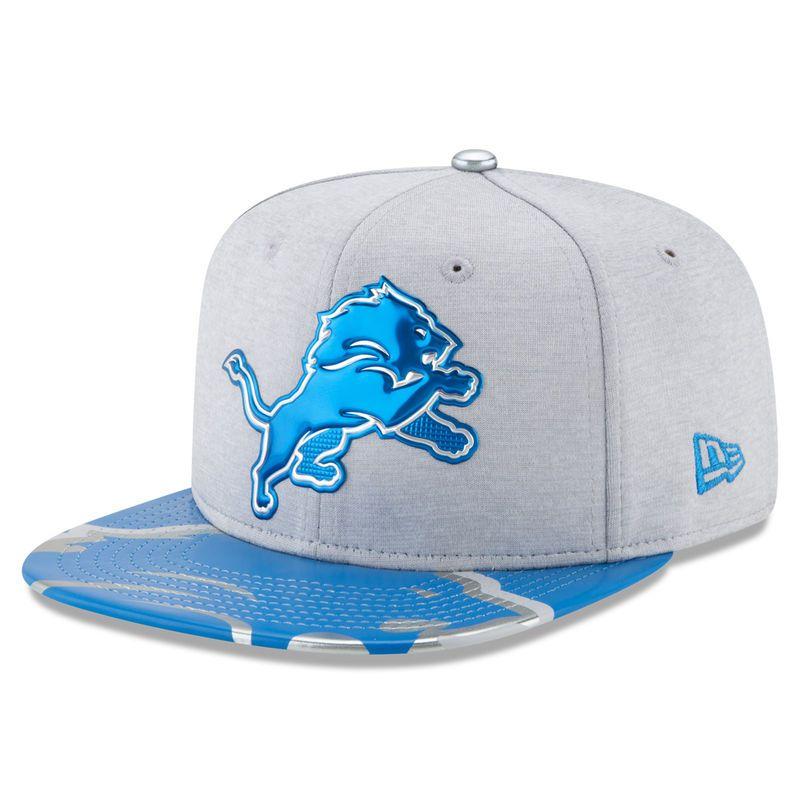 984c434227b Detroit Lions New Era 2017 NFL Draft On Stage Original Fit 9FIFTY Snapback  Adjustable Hat - Gray