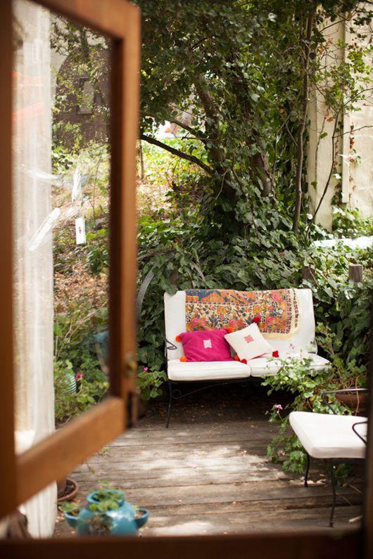 erica tanov\'s home base in berkeley | Pinterest | Terrazas, Jardín y ...