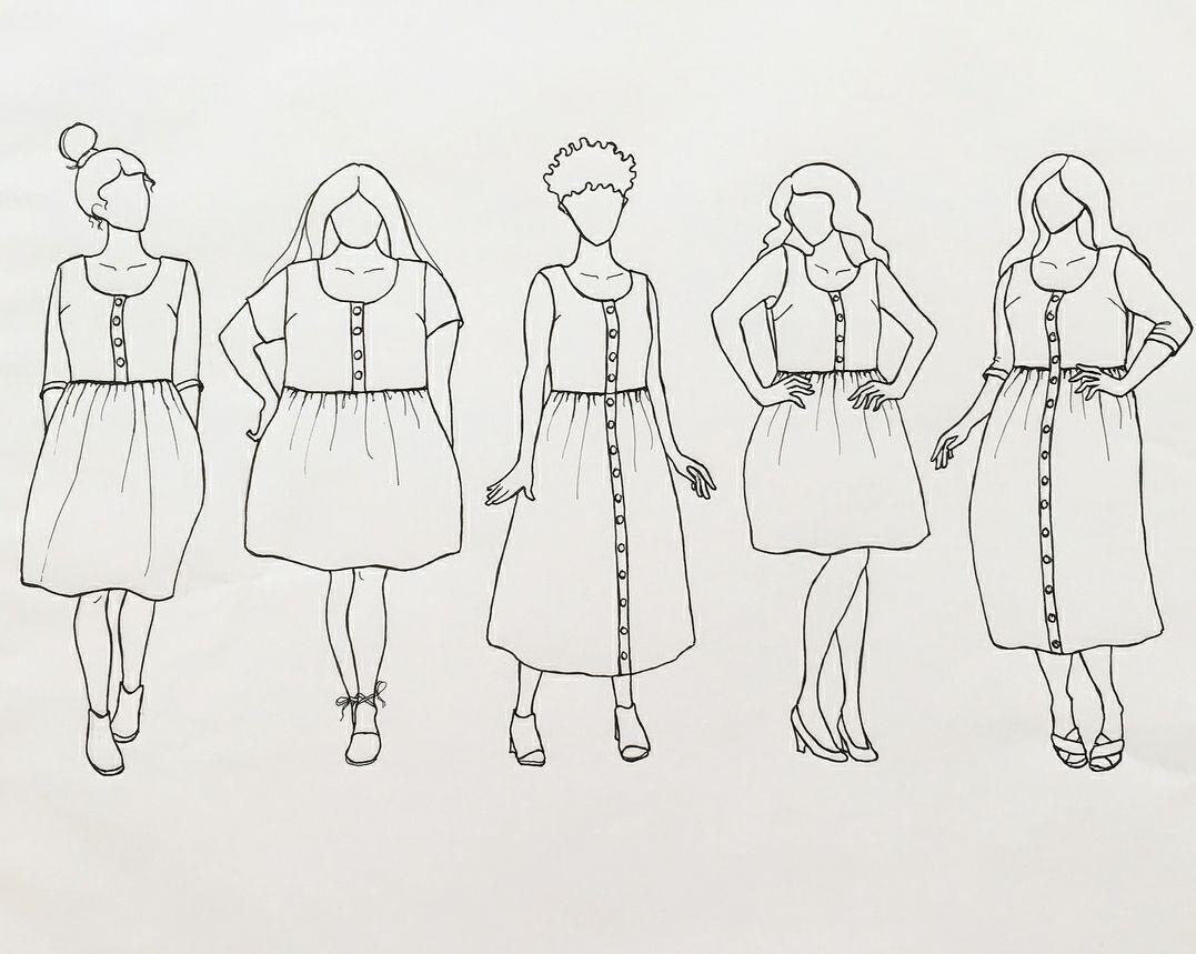 Hinterland Dress PDF Sewing Pattern | Pattern Wishlist | Pinterest ...