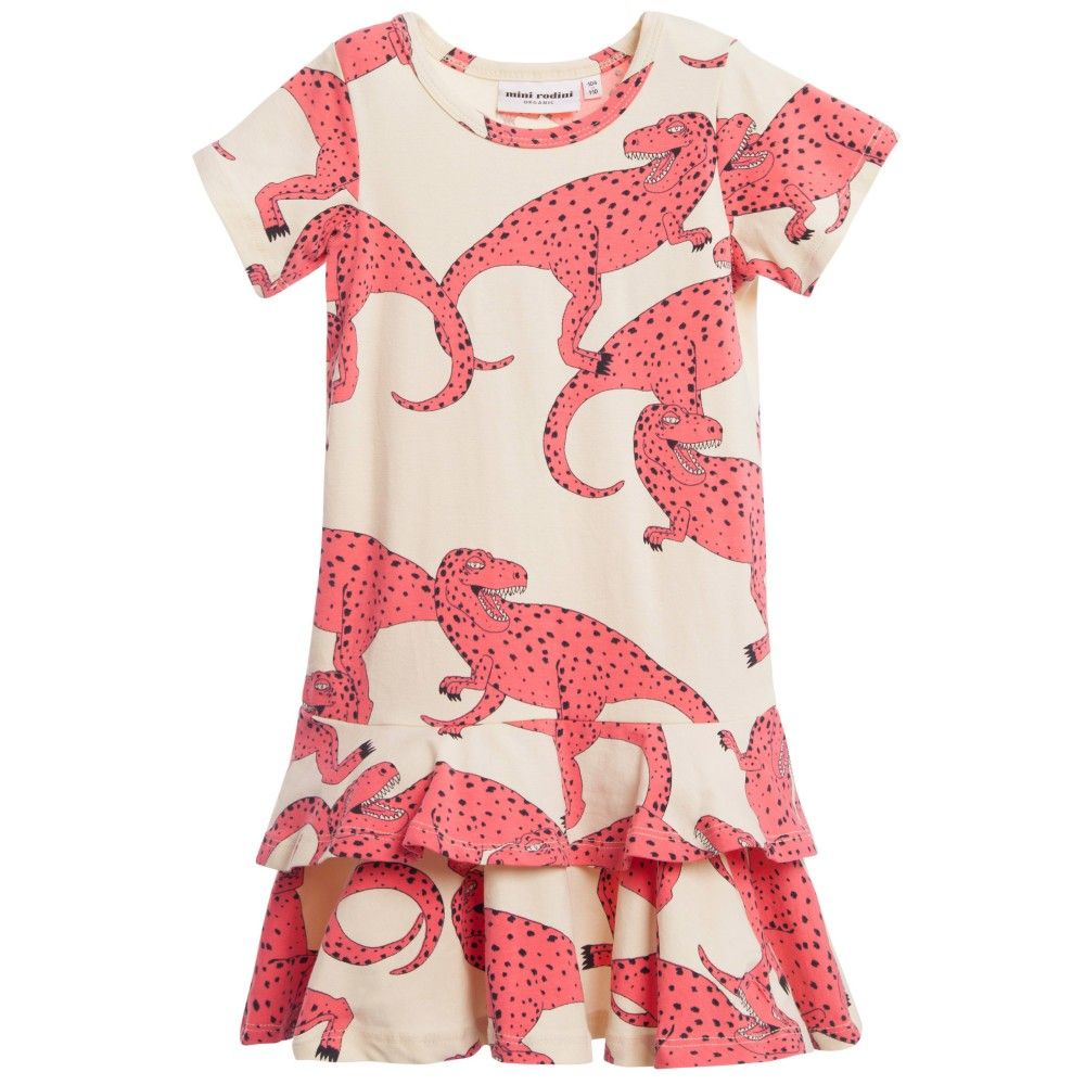 Mini rodini dinosaur dress