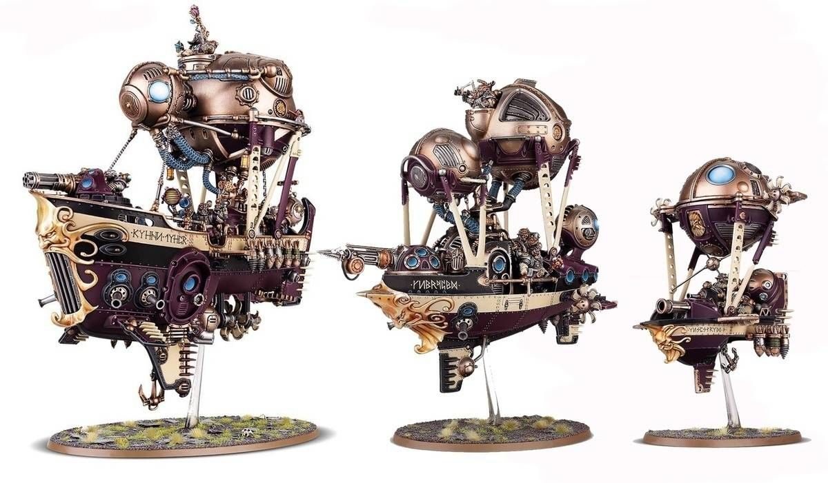Pin By Rob Kesterton On Dwarves Inspiration Kharadron Overlords