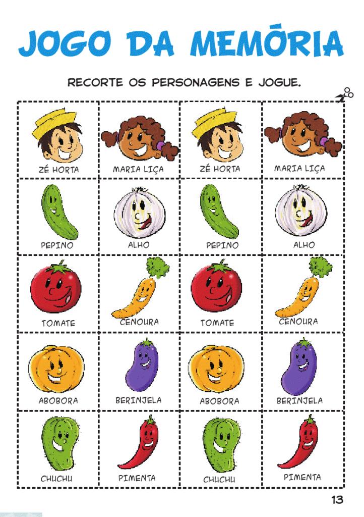 Jogo Da Memoria Para Imprimir 18 Modelos Para Diverti Alimentacao Saudavel Educacao Infantil Atividades Para Educacao Infantil Atividades Alimentacao Saudavel