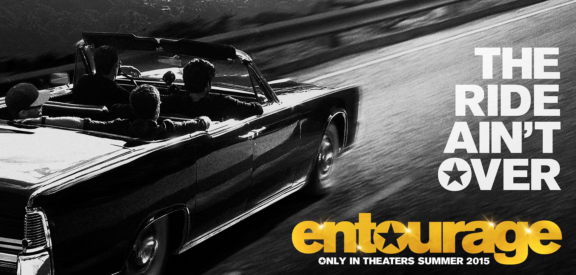 Warner Brothers has released the first official teaser trailer for Entourage, the upcoming film that picks up with the same characters of the long-running HBO series. Entourage, the much-anticipate...