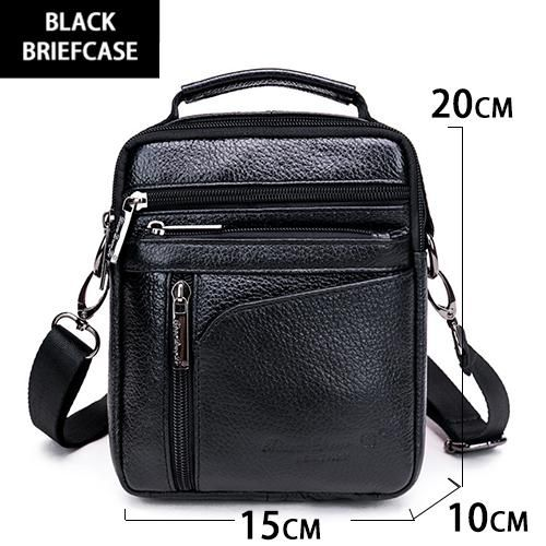 608b45b57d0a Cow Genuine Leather Messenger Bags Men Travel Business Crossbody Shoulder  Bag for Man Handbags Messenger Small