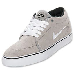 Men S Nike Satire Mid Canvas Casual Shoes Finishline Com Taupe