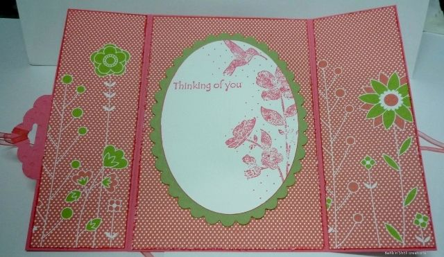 Stampin'up-scalloped tag punch-open view of card-Creating with BaRb