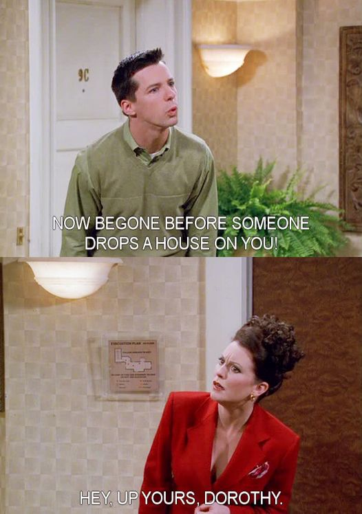 These two were my favorite on the show!! <3 WILL & GRACE