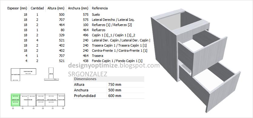 diseños de cocinas, armarios y muebles en general. programas y ... - Disenar Muebles 3d